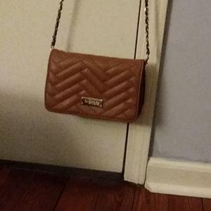 BeBe leather crossbody purse